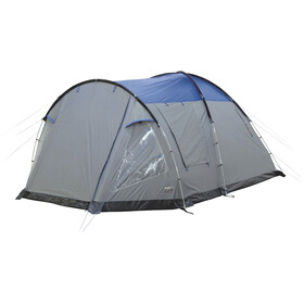 High Peak Santiago 5 - Tente - gris/bleu
